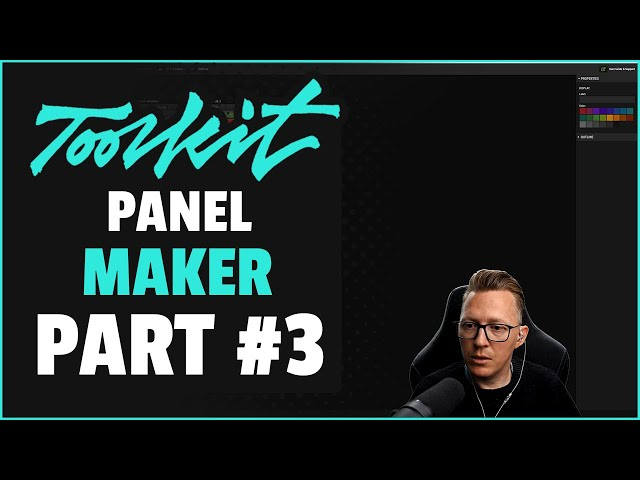 Retouching Toolkit: Panel Maker (Part#3)