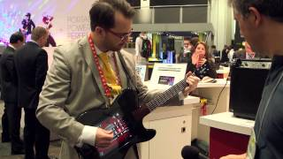 Ion All-Star iPad Controlled Guitar
