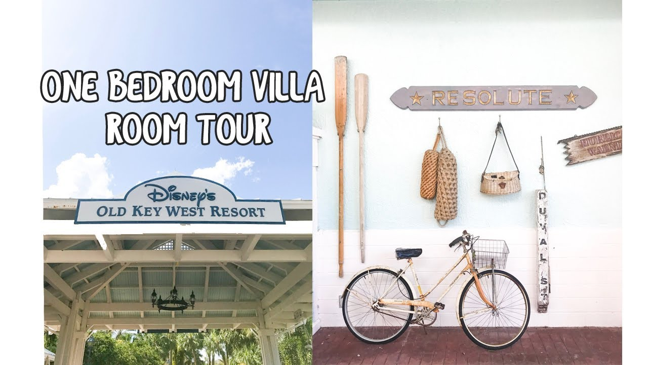 Disney 39 s old key west one bedroom villa tour and our likes and dislikes youtube for Disney old key west 3 bedroom villa