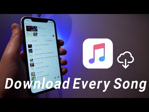 How To Download Every Song In Apple Music (2019)