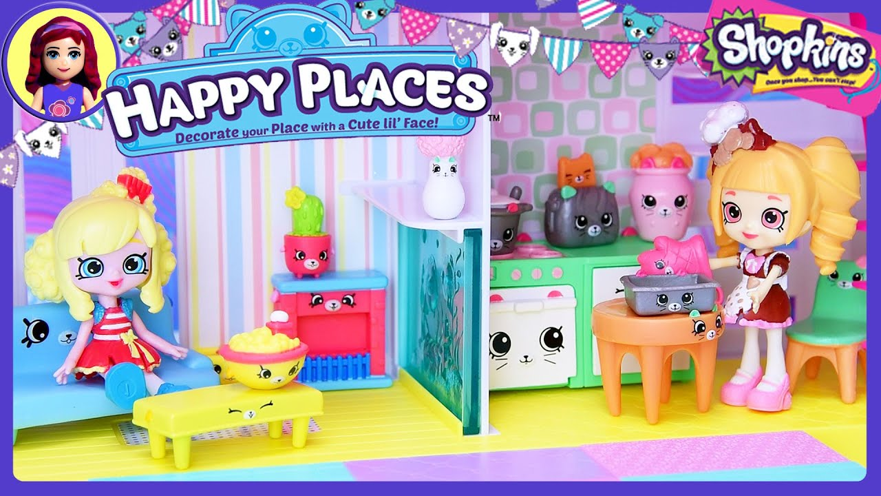 Shopkins happy places home house playset exclusive for Happy playsets