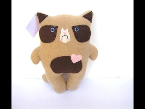 DIY Grumpy Cat Plush! || EASY Tutorial How to Make A ...