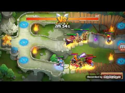 Arena Strategy With Elite Hero Ice Demon Castle Clash