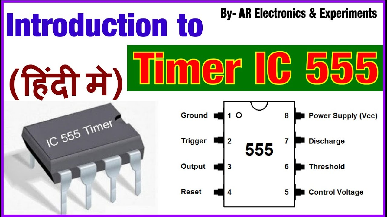 Introduction to Timer IC 555 in hindi | Internal Block ...