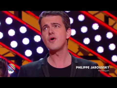 Philippe Jaroussky  sings  Hallelujah by Cohen  (08.12. 2016)