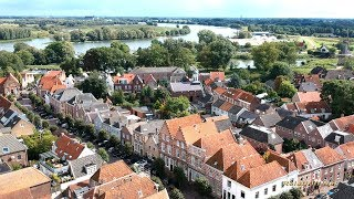Woudrichem, fortified town, seen from above