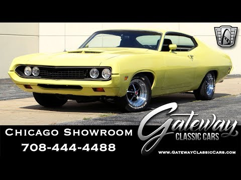 1971 Ford Torino - Gateway Classic Cars #1657 Chicago