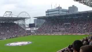 """FC St.Pauli-Greuther Fürth 3-2, """"Das Herz von St. Pauli"""" 16.8.2015"""