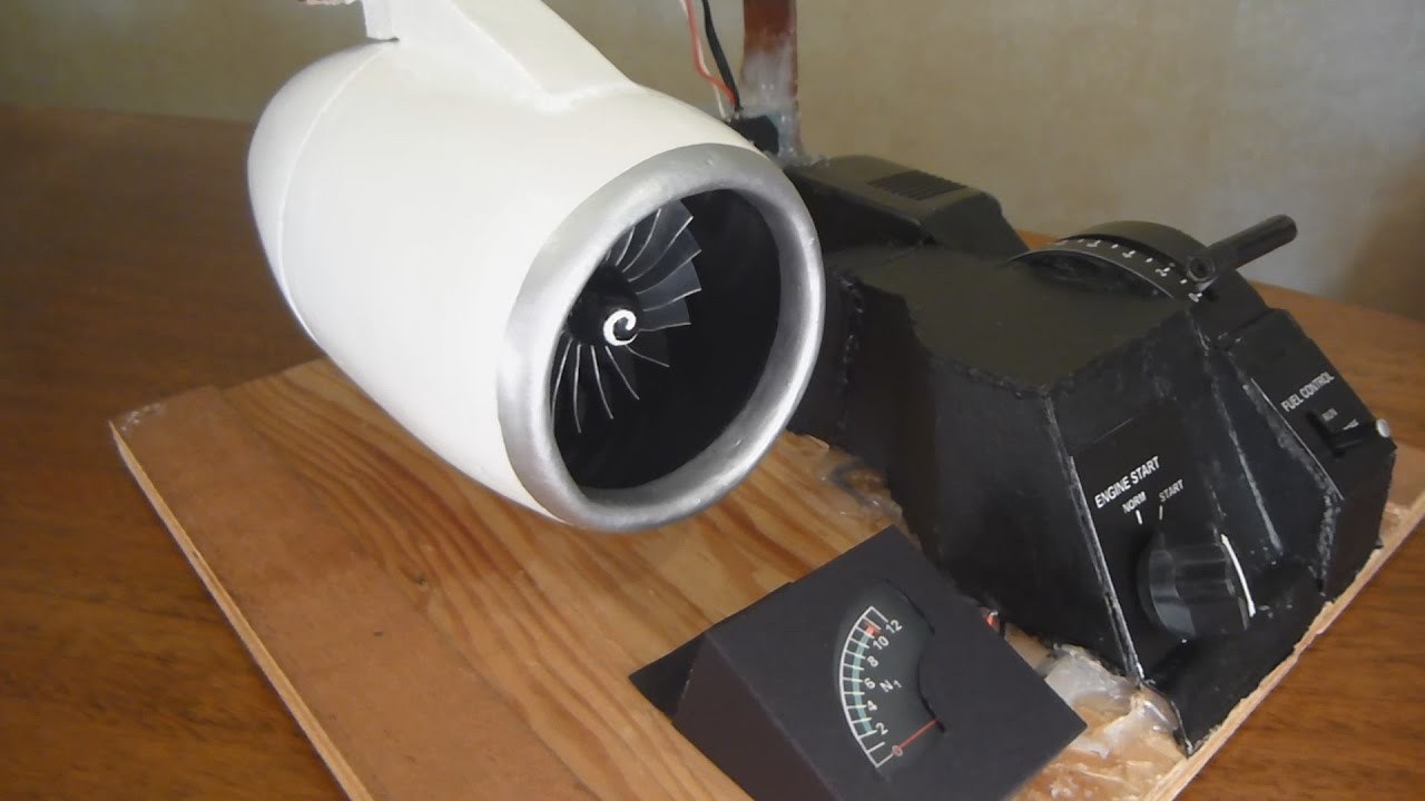 Homemade Electric Jet Engine Working Model 124 Scale Part 2 Youtube Brushless Dc Motor Diagram Free Image For User