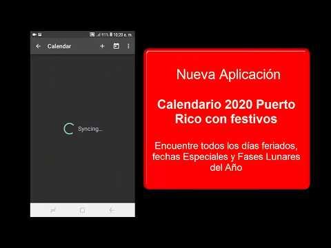 Calendario 2020 Puerto Rico Con Festivos التطبيقات على Google Play