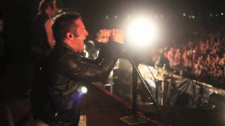 "Nine Inch Nails performs ""Somewhat Damaged"" live at the Roskilde Fe..."