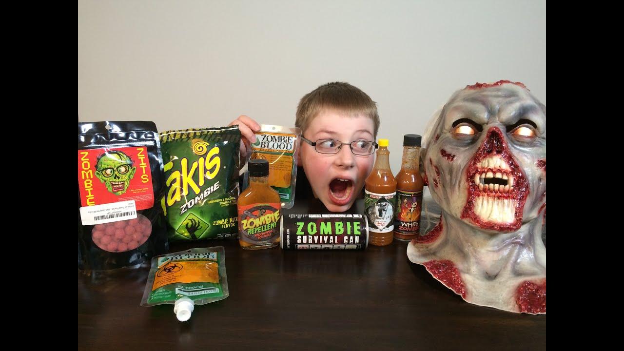 Zombie Gauntlet : Eating Blood, Zits, Takis, Hot Sauce ...