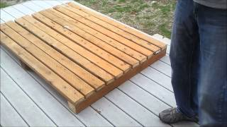 1-shed Foundation And Floor Framing - How To Build A Generator Enclosure