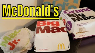 connectYoutube - McDONALD's Mac Jr, Big Mac & Grand Big Mac