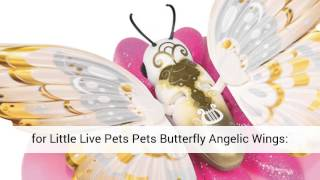 Little Live Pets Pets Butterfly Angelic Wings, A video Review