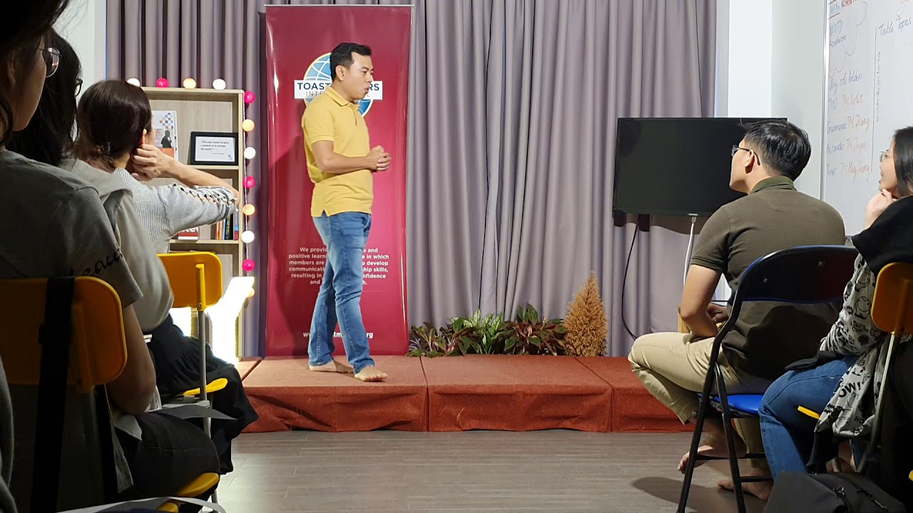EIY - Public Speaking training - Mr Brian - YouTube