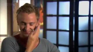 Tom Felton talks about an awkward moment with Emma Watson about how she slapped him!