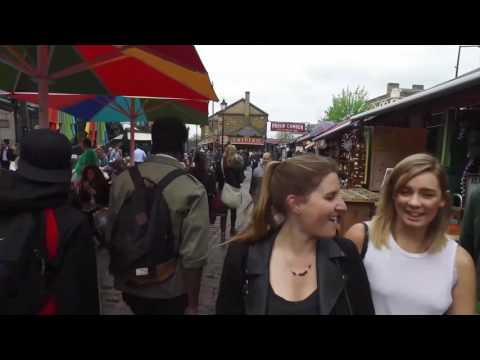 Walking Around Camden Lock Market – Weekend Tourist Attraction