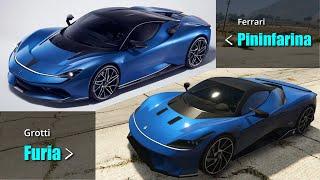 GTA V All Casino Heist Cars VS Real Life Cars | New & Unreleased