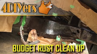 How to Clean up Frame Rust on a Budget