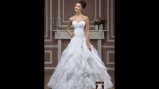 Brautkleider Brautmoden Kollektion 2015 - Hochzeitskleider aus Spitze bei Lavie in Bochum