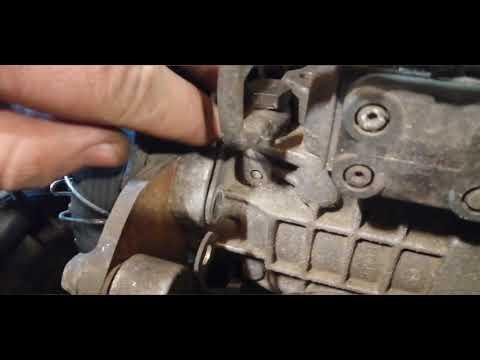VW Sharan 1,9 tdi. 96 г.в. Регулируем момент впрыска. Ч2.