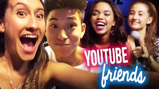 MEET MY YOUTUBE FRIENDS! Jeffrey Fever, Maybaby + MORE #AwesomenessTownhall Vlog | itsLyndsayRae Thumbnail