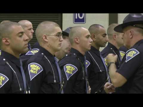 Indiana State Police - The 77th Recruit Class Inspection