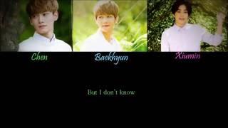 EXO [Chen, Baekhyun, Xiumin]_For You (너를 위해) Lyrics (Moon Lovers OST. Part 1)