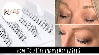 HOW TO APPY INDIVIDUAL LASHES