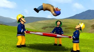 Fireman Sam US New Episodes HD | Bouncing around | Trouble Maker Elvis | 1h Collection 🚒🔥Kids Movies