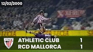 Liga 99-00 - J.24 - Athletic Club 1 RCD Mallorca 1