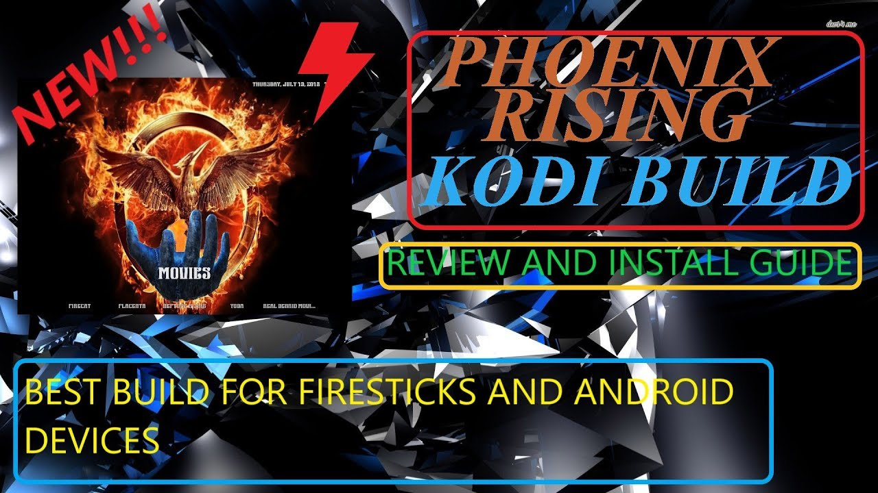 kodi phoenix build