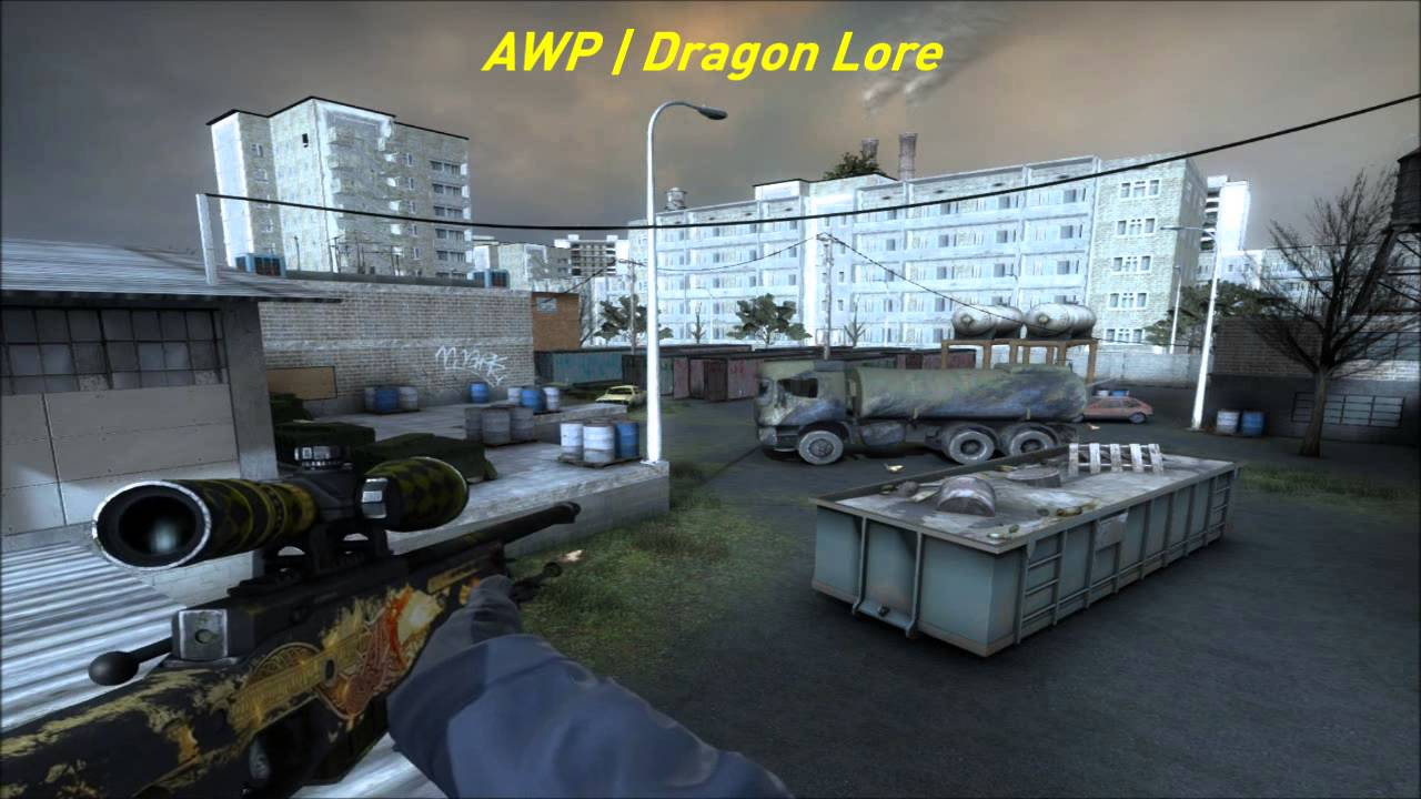 AWP Dragon Lore BS Showcase by LDT waddawa