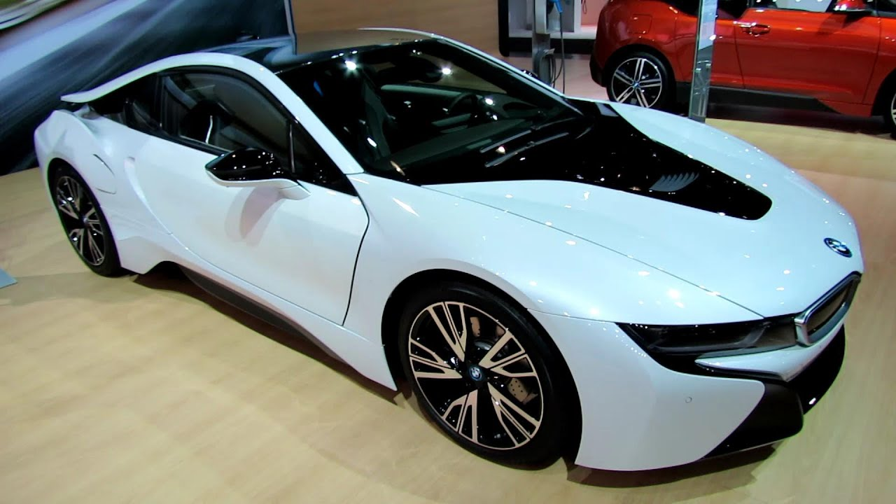 2015 BMW I8   Exterior And Interior Walkaround   2013 LA Auto Show   YouTube