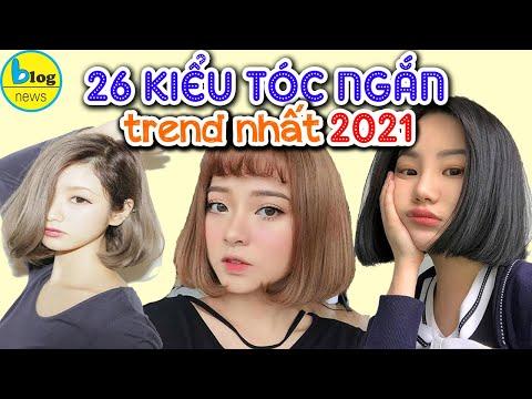 TOP Kiểu tóc ngắn uốn phồng đẹp nhất 2020