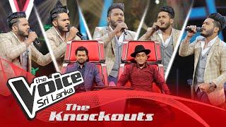 Shehan Milochana | Mashup | Sandanari | Datha Dara | The Knockouts | The Voice Sri Lanka Thumbnail