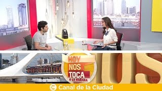 """""""Rojo"""": Entrevista Mano A Mano Con Benjamín Naishtat En Hoy Nos Toca A La Mañana"""