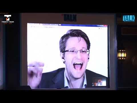 Edward Snowden on Aadhaar