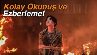 Agust D 2 Türkçe Kolay Okunuş Ve Ezberleme!