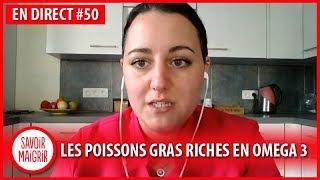 Poissons gras & boissons végétales - Webinaire en direct #50 avec l