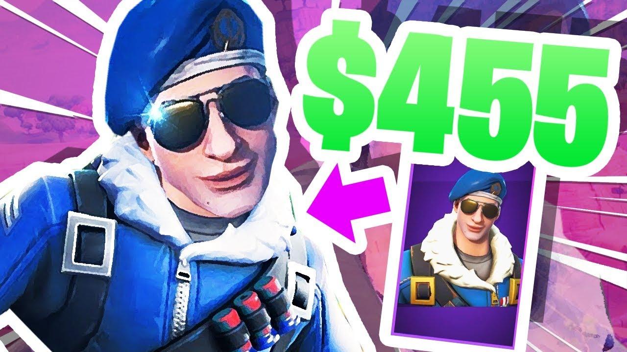 This Fortnite Skin Cost Me 455 Youtube