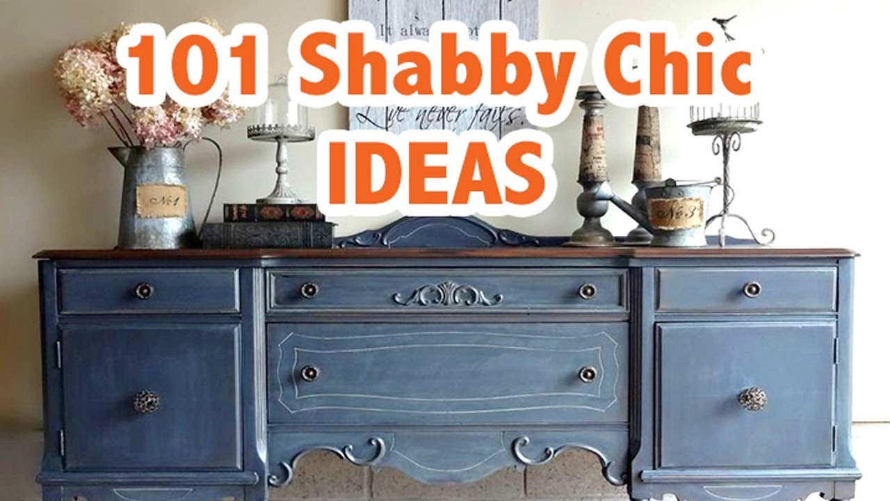 15 Painted Furniture Ideas, Shabby Chic & DIY
