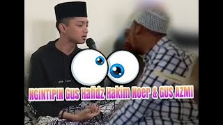 Ngintipin Kyai Hafidzul Hakiem Noer Gus Azmi di markas Al munsyidin Pekalongan