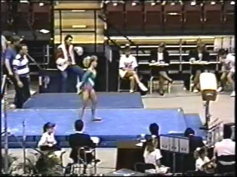 1991 U.S. Nationals--Jenny Hansen VT