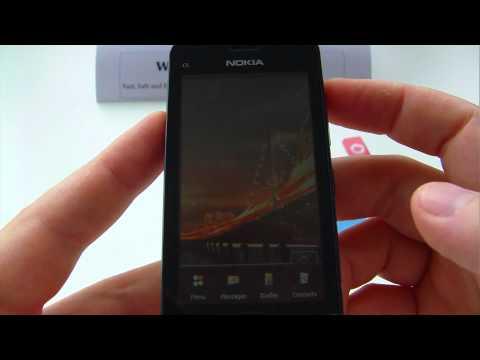 Nokia C5, C5-03 Unlock & input / enter code.AVI