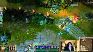 IWillDominate plays Jarvan IV jungle vs Nunu