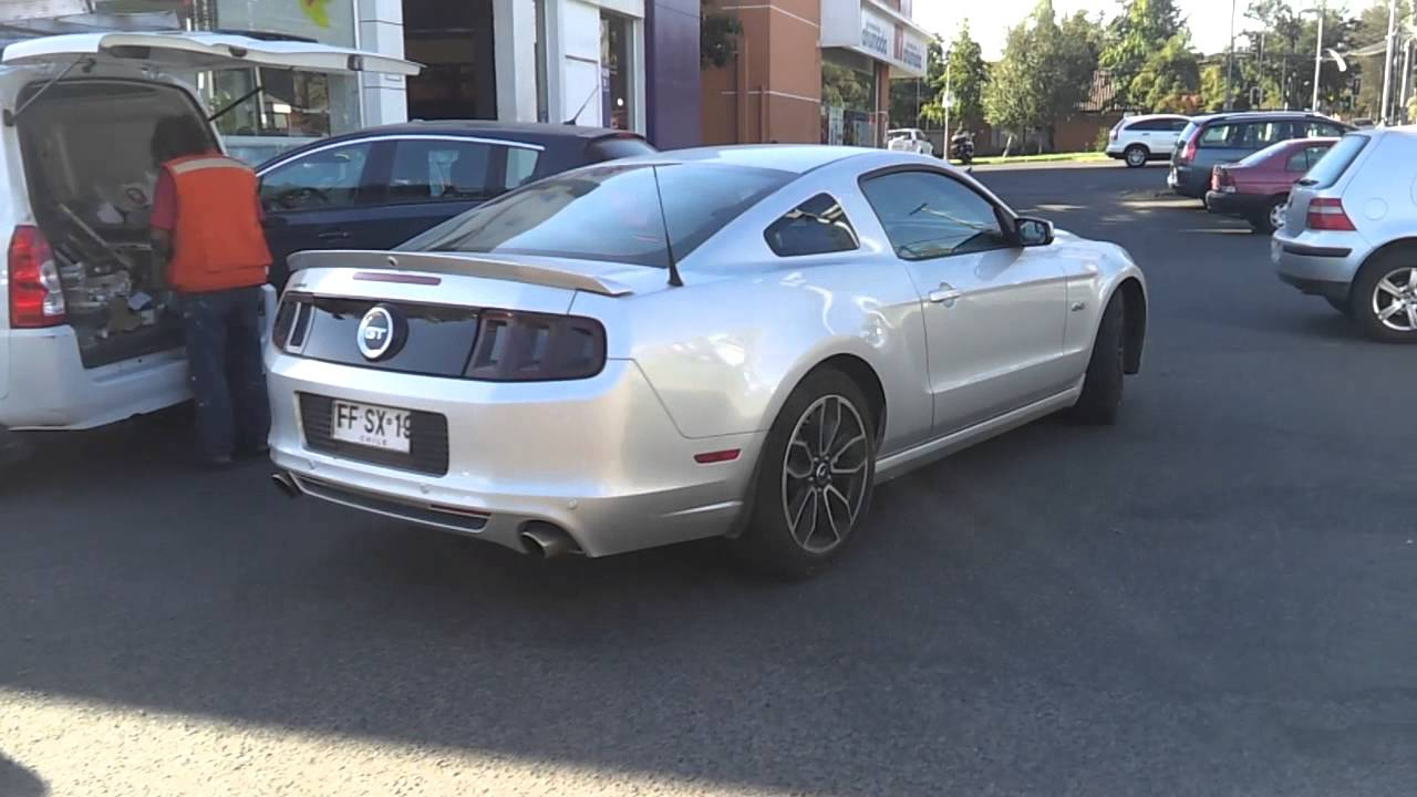 Ford Mustang GT 2013 Leave in Chile! - YouTube
