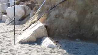 Solfatara in spiaggia