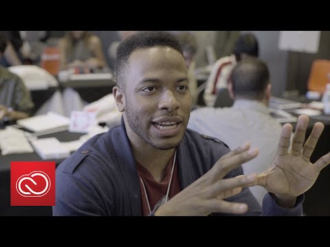 Make It on Mobile with Kervin Brisseaux | Adobe Creative Cloud